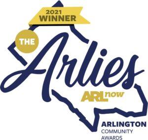 2021 Winner The Arlies Arlington COmmunity Awards